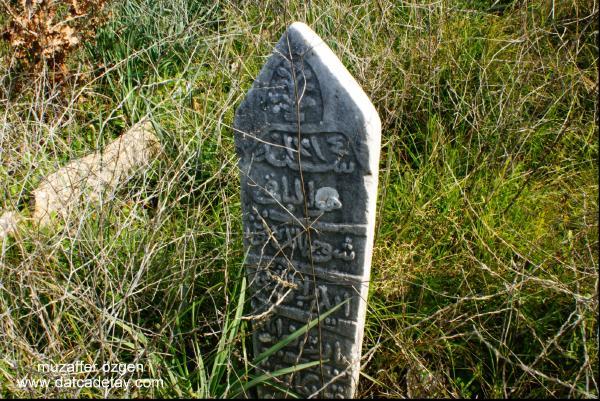 datça çeşmeköy mezarlığı osmanlı mezar taşları