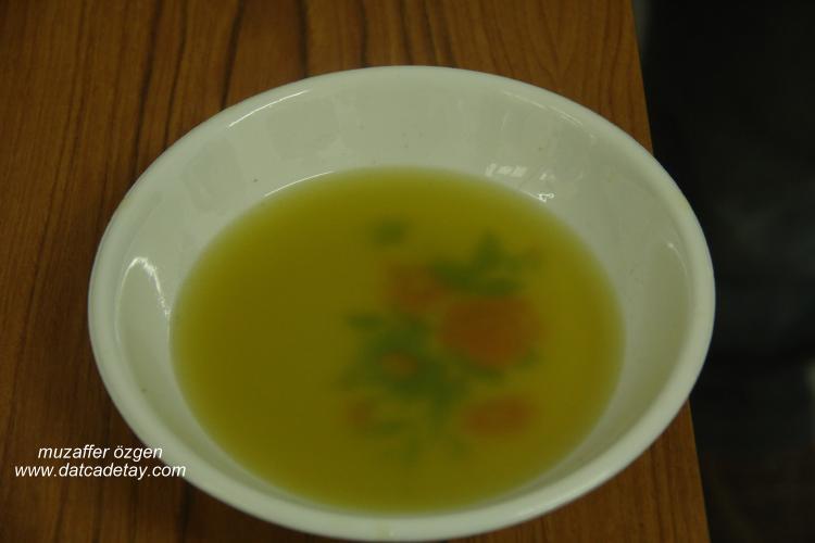 tabakta zeytinyağı