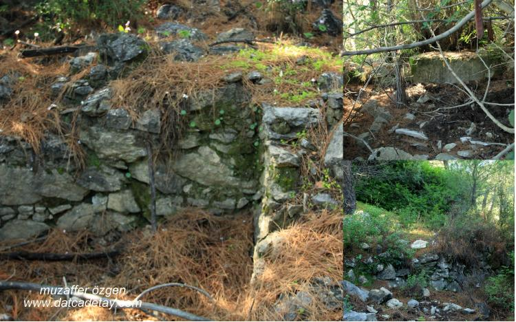 Bubaslık yapı kalıntıları