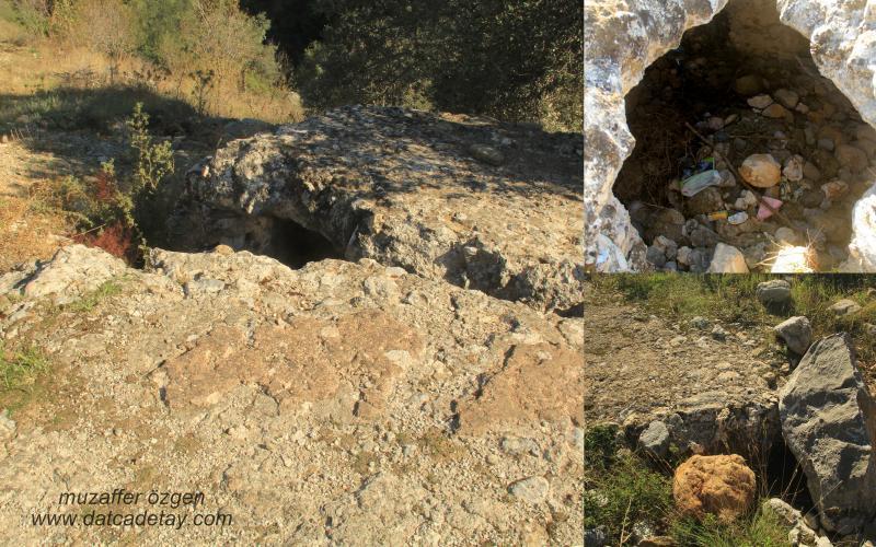 Sındı köyü arazilerinde antik depo