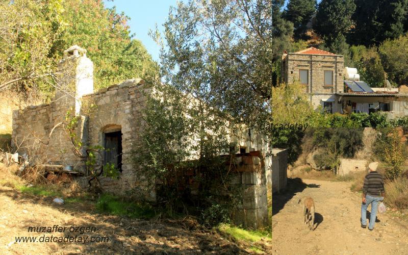 Sındı Sazak eski evler