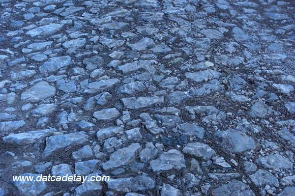 Antik Yollar : Datça alavara eski taş yol