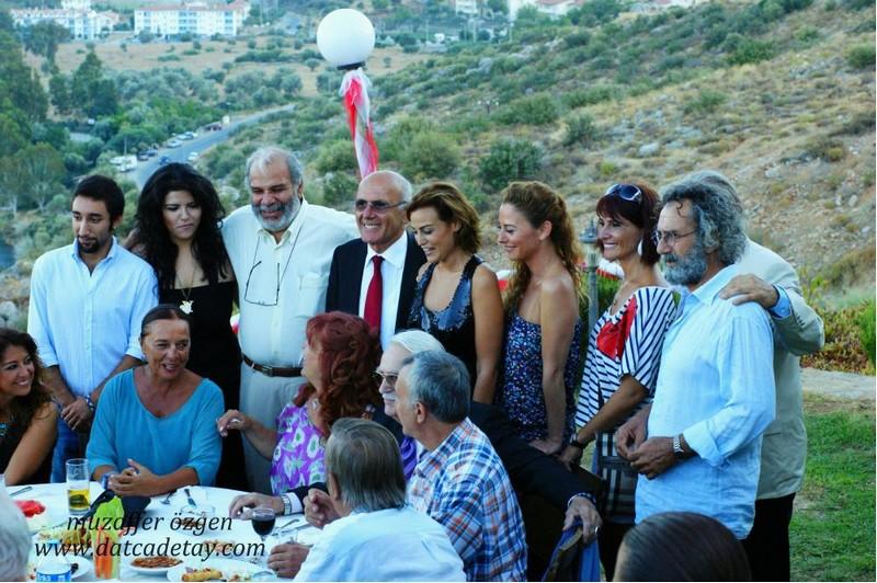 Belediye başkanı şener tokcan sanatçılarla