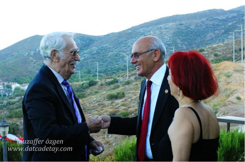 Eşref Kolçak Belediye başkanı şener tokcan ve eşi ile