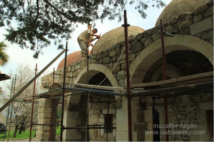 hızırşah camii restore çalışması