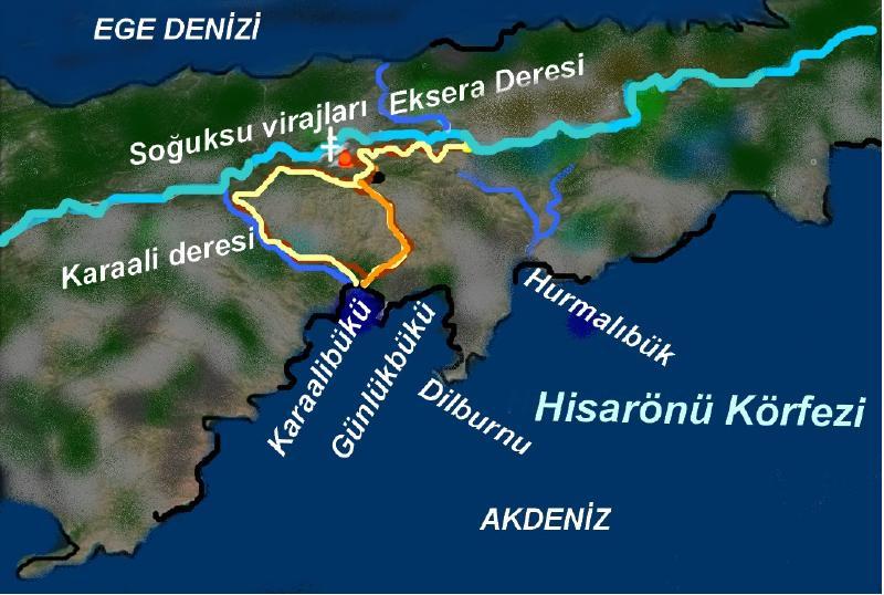 karaali-deresi-yuruyusu-harita