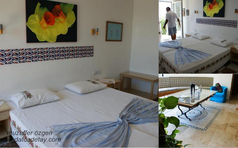 villa aşina odaları