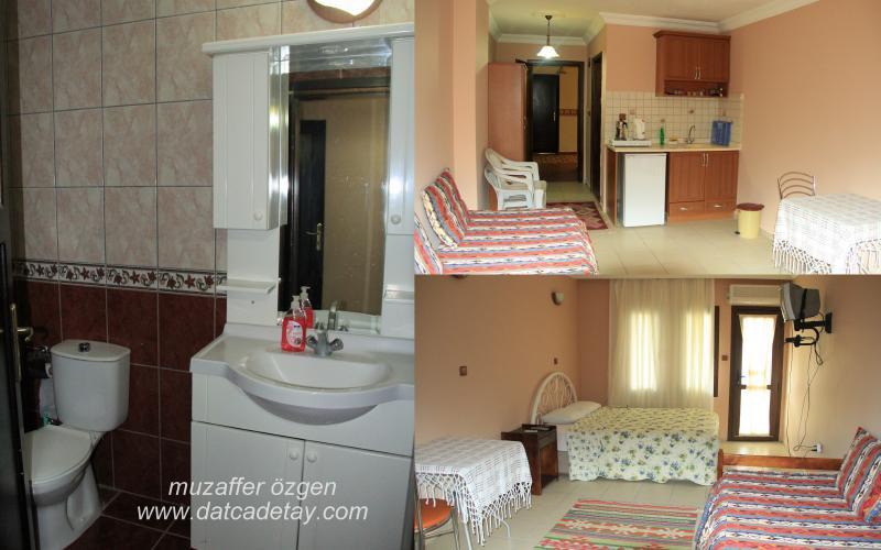 mandalina apart otel odaları