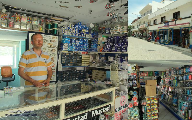 datça balık ve deniz malzemeleri