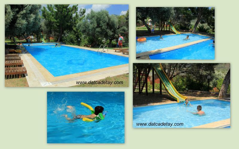 babil tatil köyü havuzu
