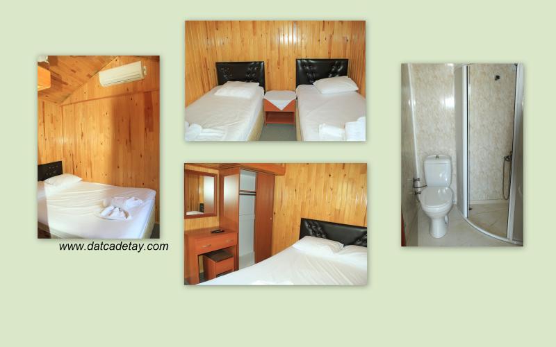 babil tatil köyü odalar