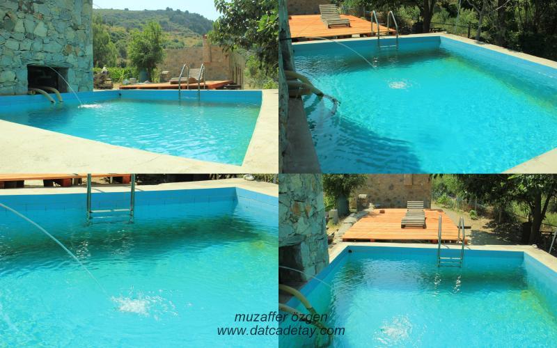 knidia çiftliğinde havuz