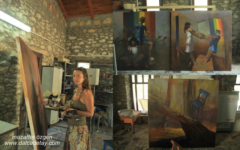 akademi knidos resim çalışmaları