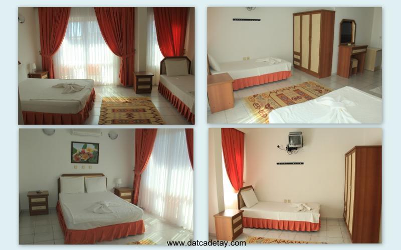 bora otel odaları