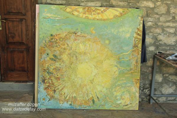 knidos akademi tablo çalışması