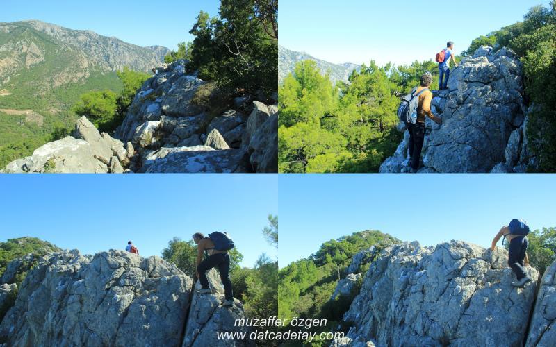 dağlarda zorlu yürüyüşler