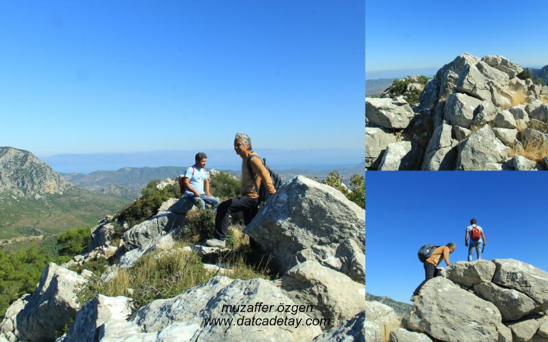dağın zirvesinde mola