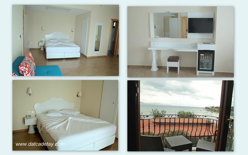 kumluk otel odaları