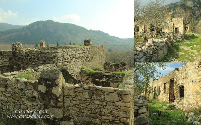 yaka köyünde eski evler