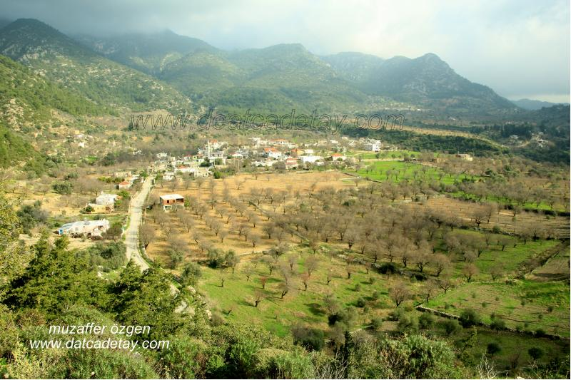 asar tepeden sındı köyünün görünüşü