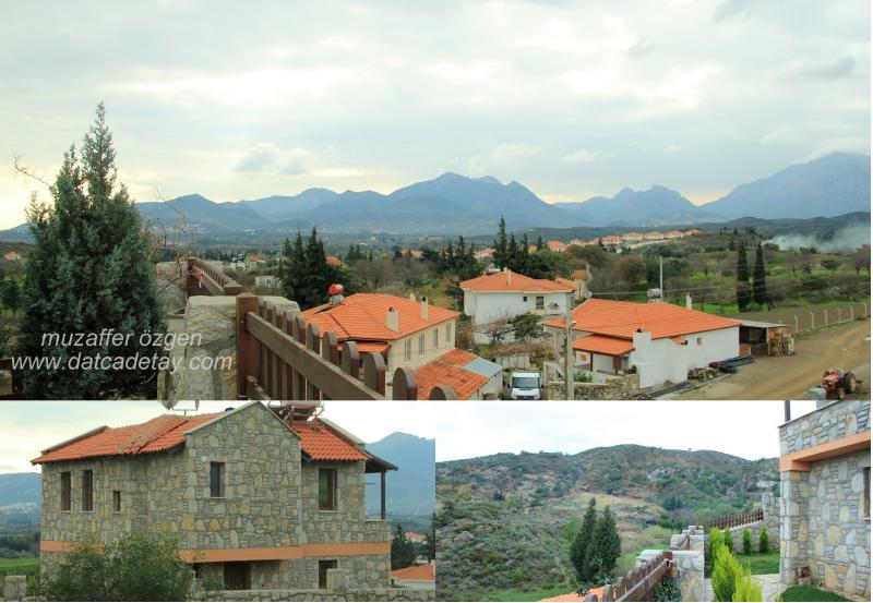 datça kızalan köyünde
