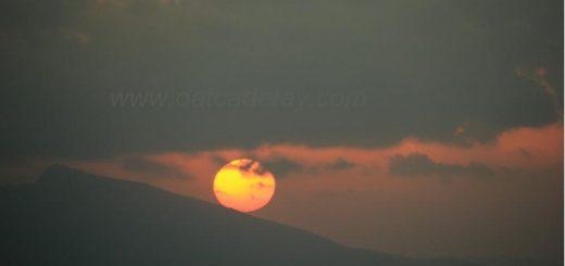 yazıköy'de gün batımı
