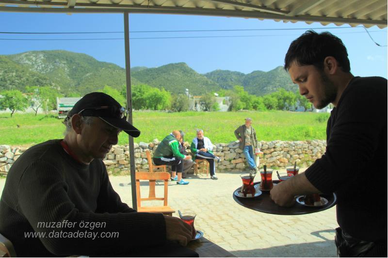 datça sındı köyü çay molası