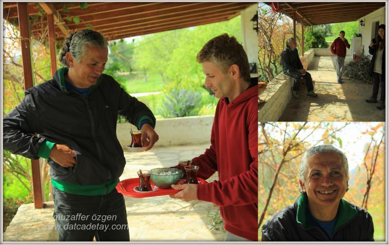 knidos akademi'de çay saati