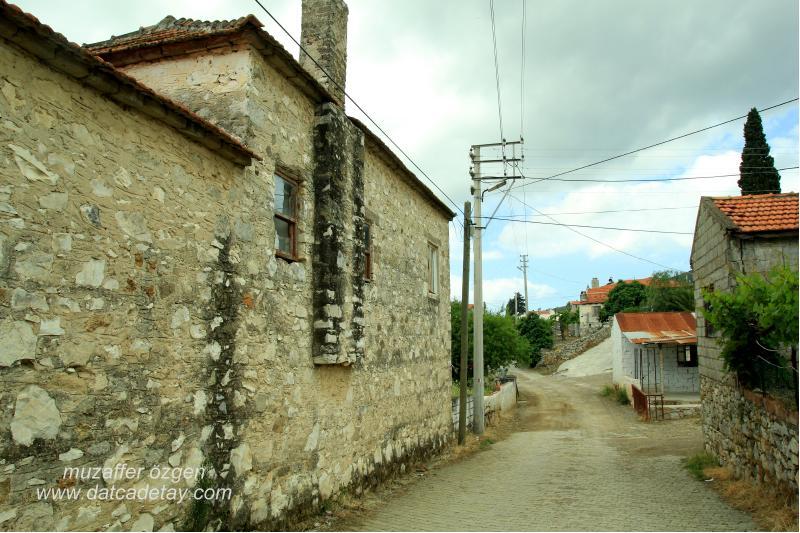 kızlan köyü sokakları