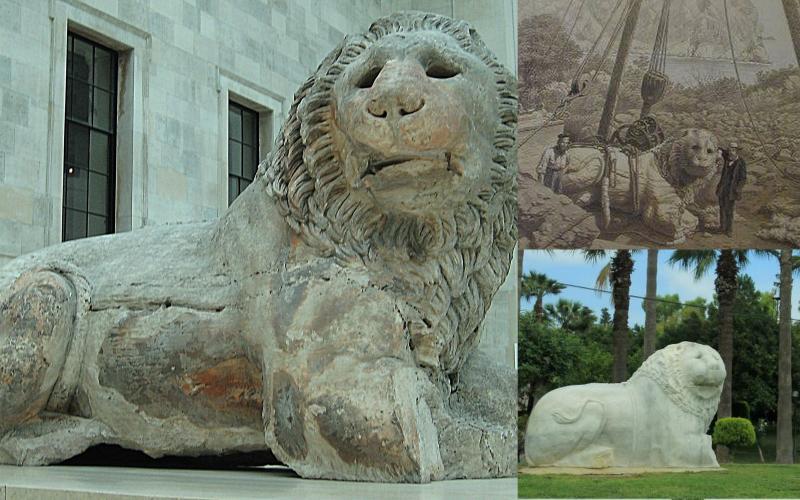 knidos aslanı