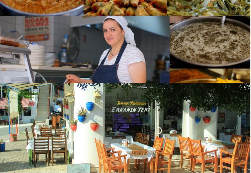 korsan'ın yeri lokantası