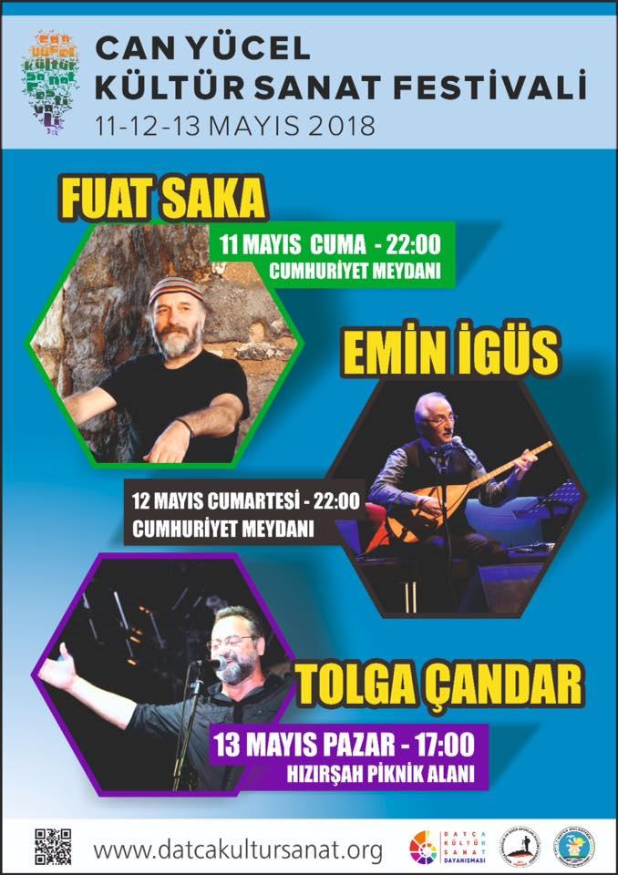 can yücel festivali müzik programı