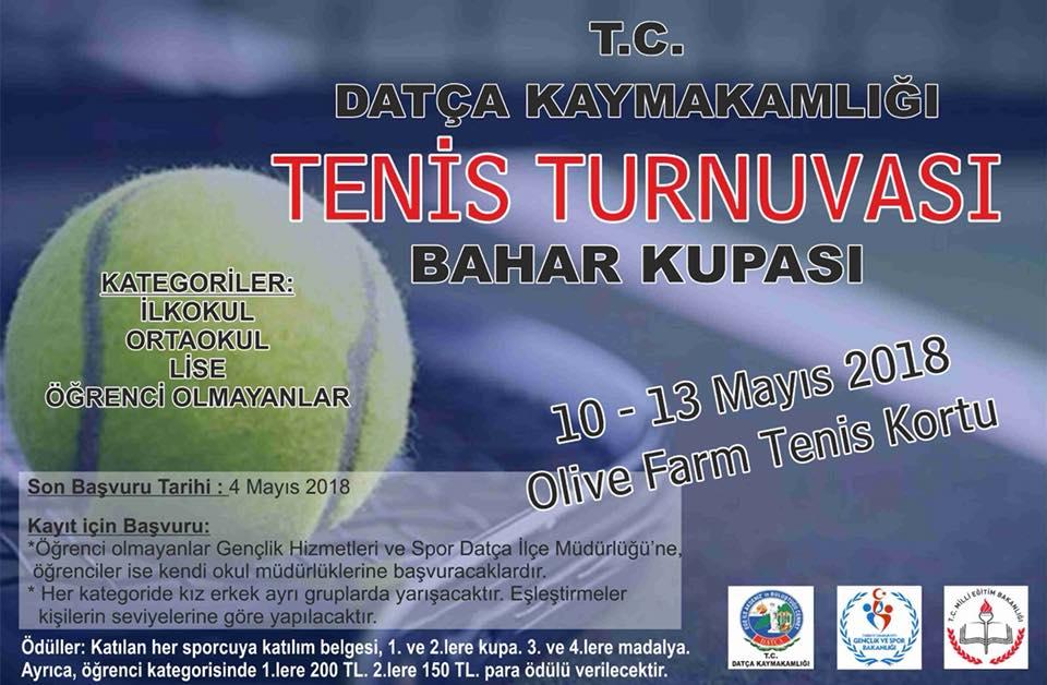 datça tenis turnuvası