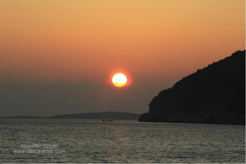 ovabükü'nde gün batımı