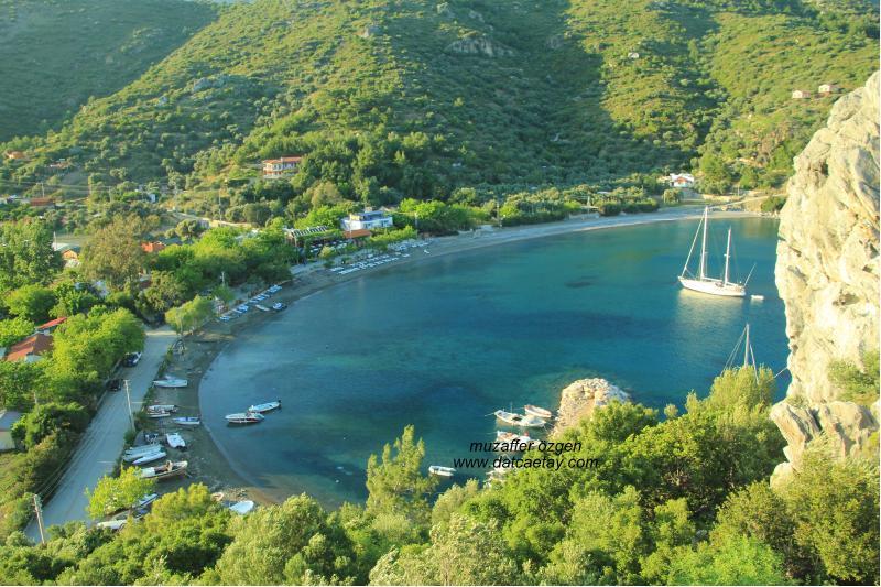 Adatepe'den hayıtbükü manzarası
