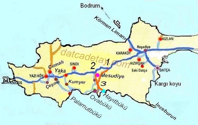 hayıtbükü yol haritası