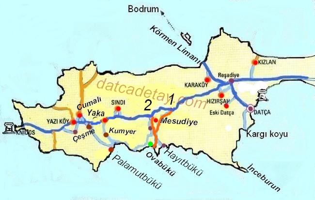 mesudiye ovabükü haritası