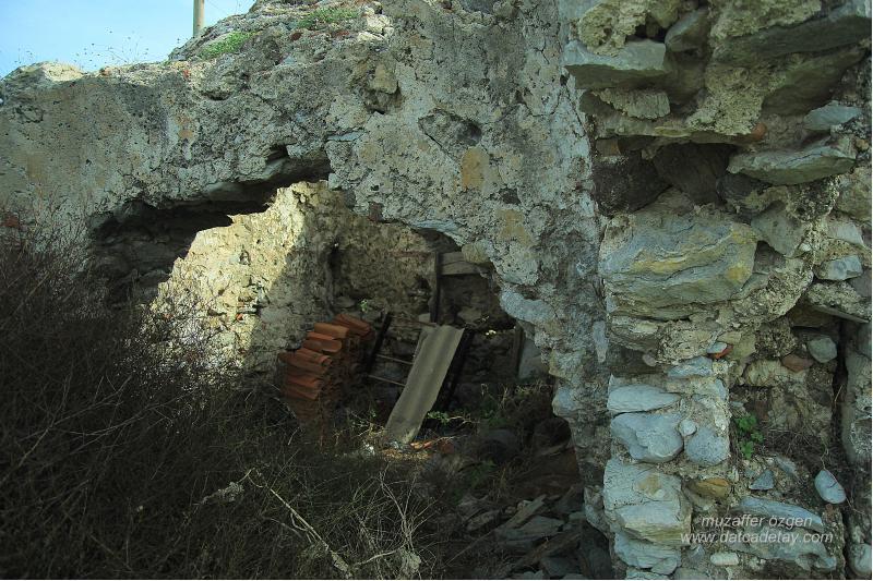 datça karaköy bizans hamam kalıntısı