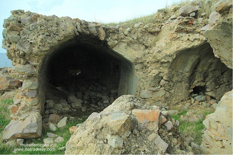 datça karaköy bizans yapıları