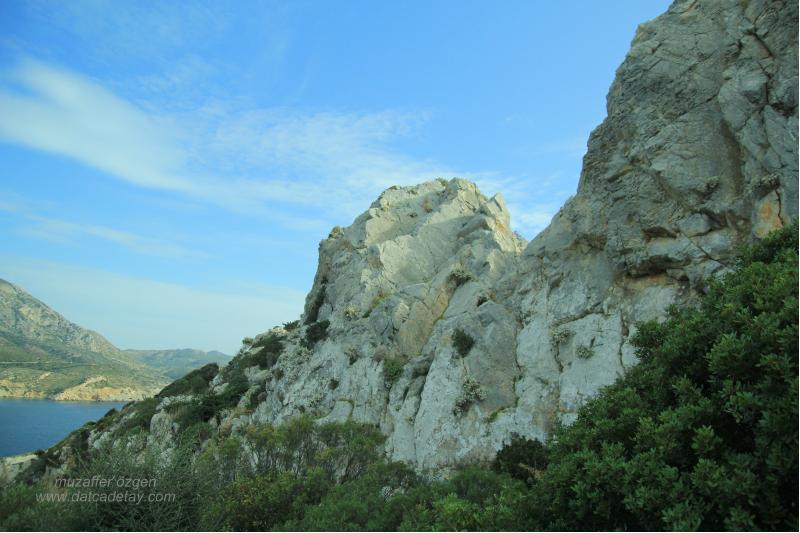 kap krio kayalıkları