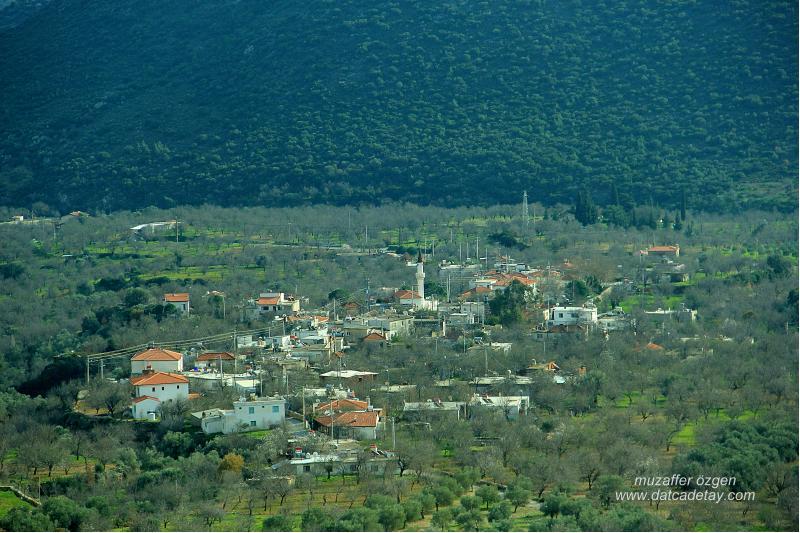 datça cumalı köyü