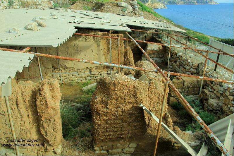 knidos hellenistik dönem villa