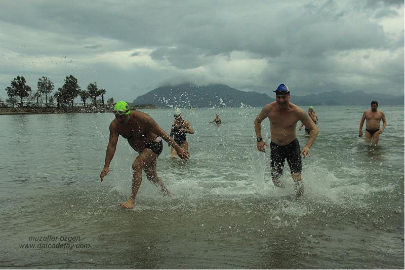 datça yüzme maratonu