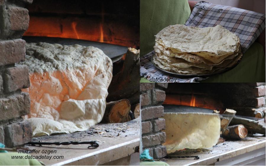 yufka ekmek yapımı
