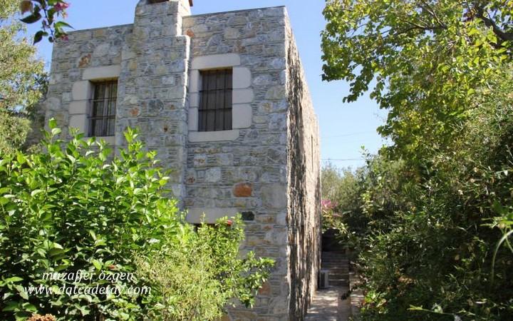 eski datça taş ev