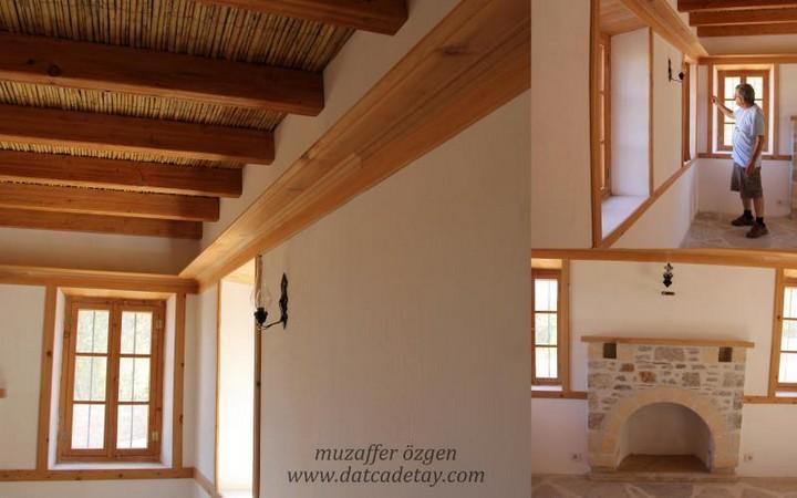 tavanda geleneksel mimariden yararlanma