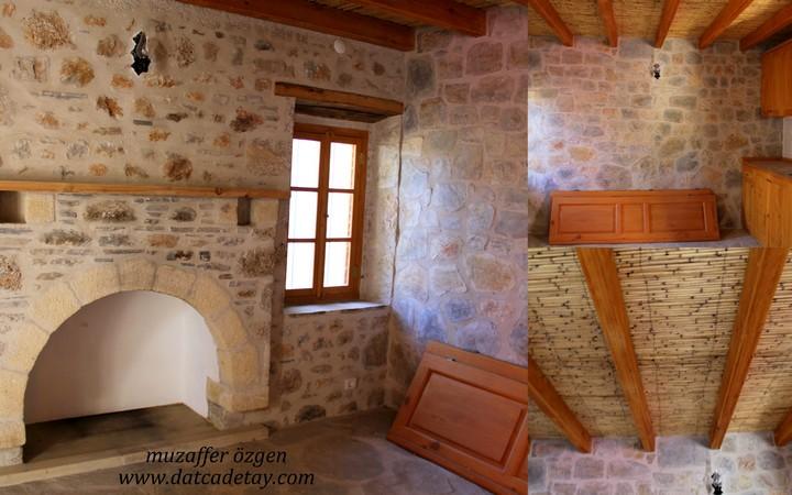 taş evlerde geleneksel öğeler