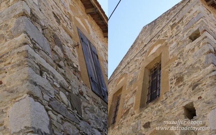eski datça taş evler