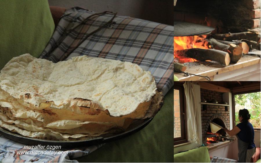 pişirilmiş yufkalar