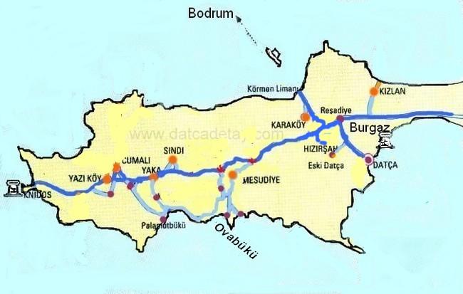 knidos yol haritası